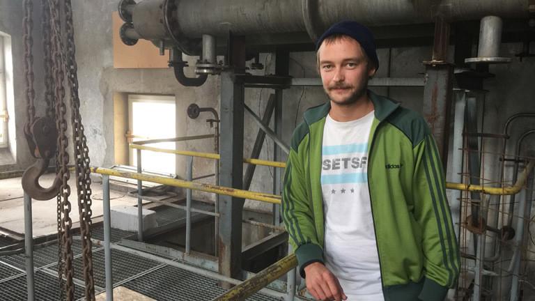 Ein junger Mann namens Raffael aus Görlitz.