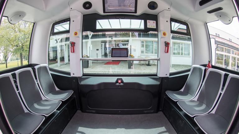 Autonomer Bus in Bad Birnbach