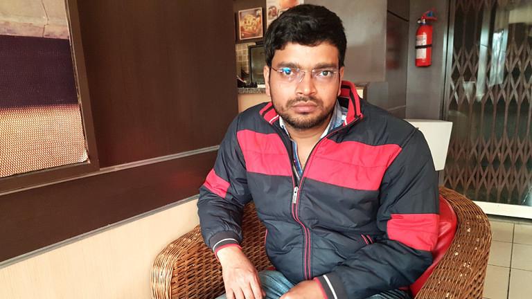 Vinod Kumar wurde entführt und zwangsverheiratet.