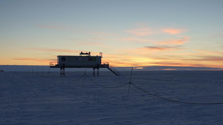 Forschungsstation Neumeyer III in der Antarktis.