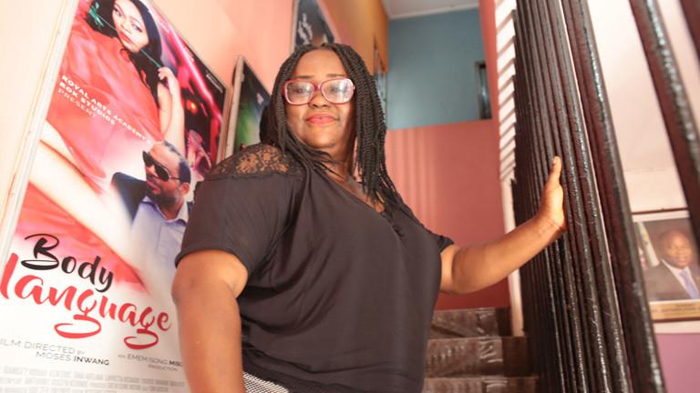 Nollywood-Filmproduzentin Isong-Misodi