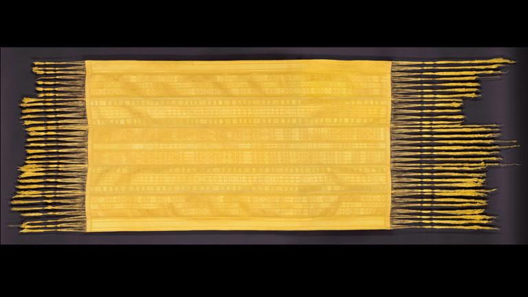 Goldener Schal von der Madagaskar-Seidenspinne