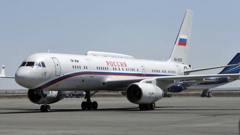 Iljuschin IL – 96: Präsidentenmaschine von Russlands Staatschef Putin.