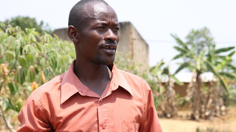Silas Usengumuremy aus Ruanda.