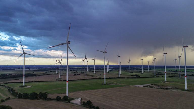 Windräder in Europa könnten die ganze Welt mit Energie versorgen