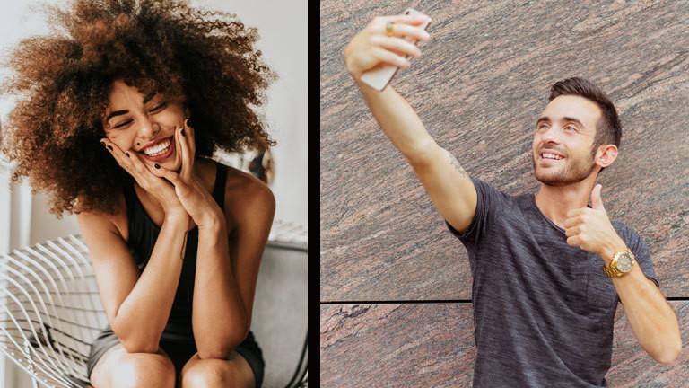 Warum Posies besser ankommen als Selfies