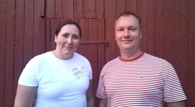 Tina Howard und Tino Hütter.