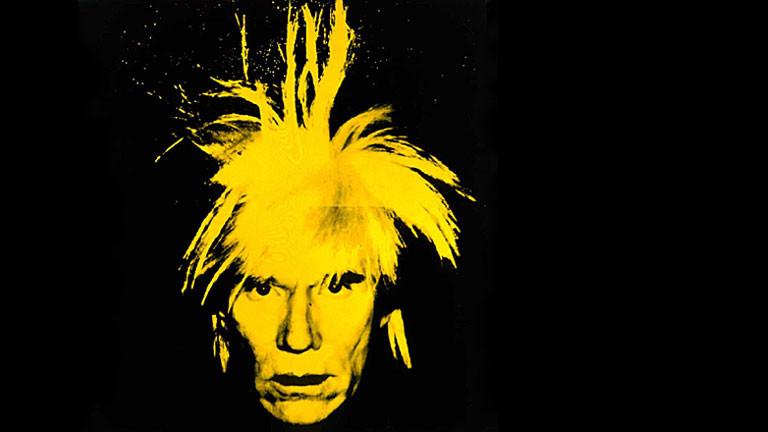 Selbstportrait von Andy Warhol, Rechte: dpa | Andy Warhol Museum Pittsburgh