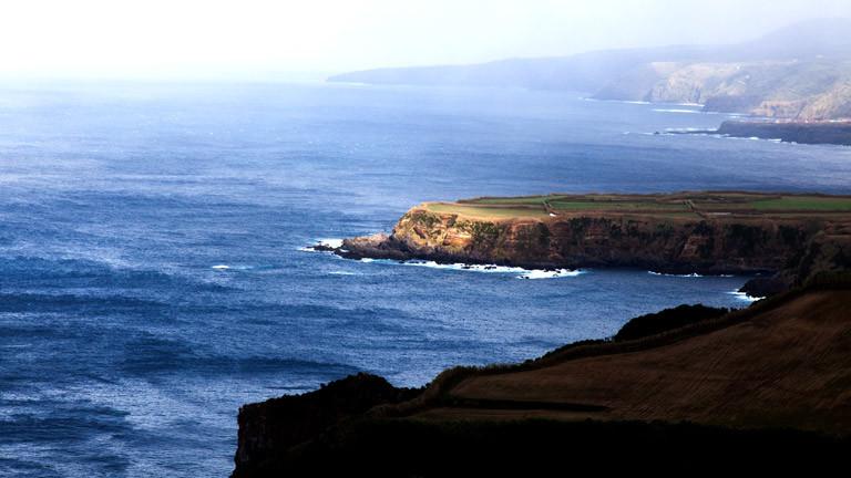 Steilküste der Azoren