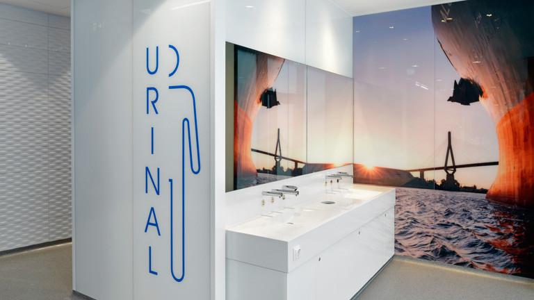 Öffentliche Unisex-Toiletten in Hamburg