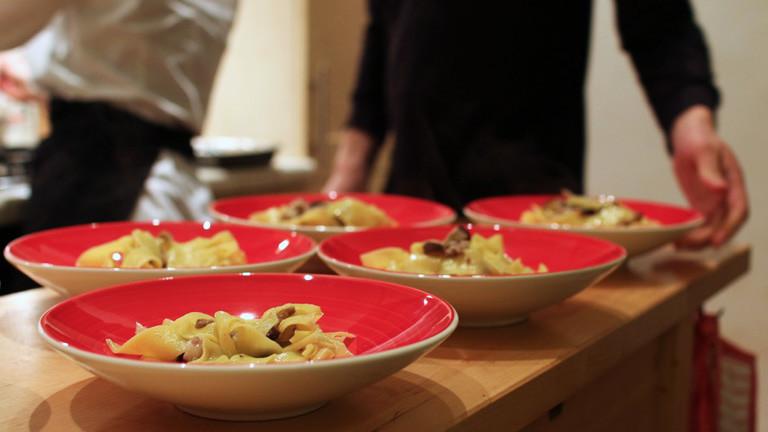 Menüschälchen beim EatWith-Dinner