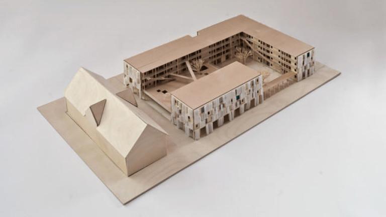 Modell Wohnheim Drexler Guinand Jauslin Architekten