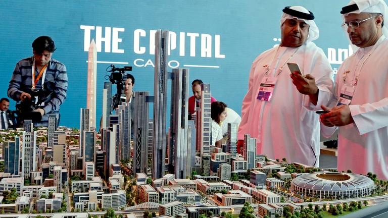 Modell capital cairo, 2015