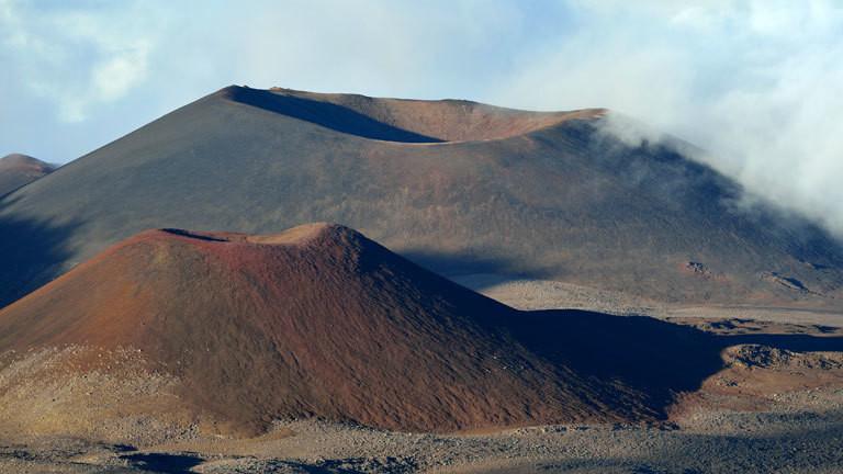 Der Vulkan Mauna Kea auf Hawaii
