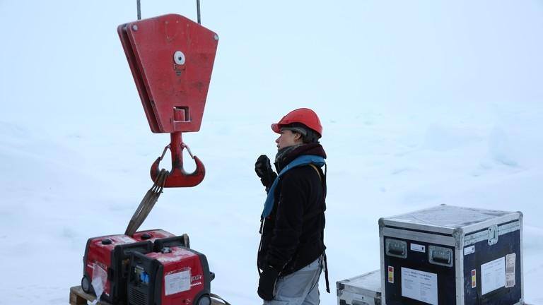 Verena Mohaupt hat sich um die Logistik der Mosaic-Expedition gekümmert.