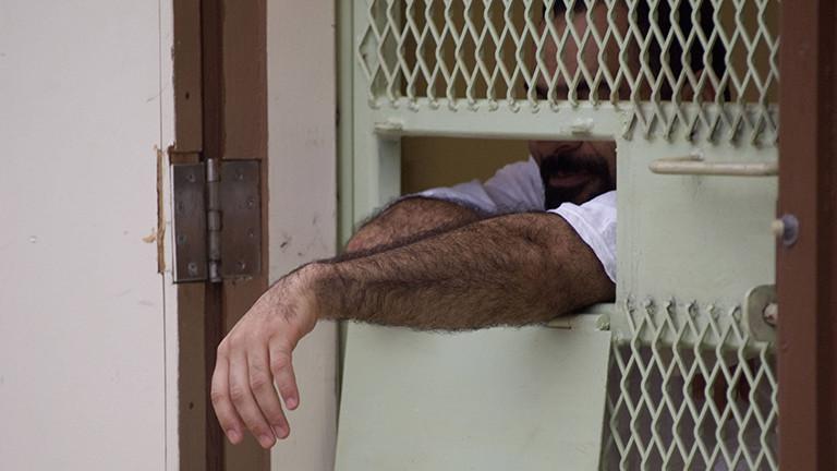 Ein Gefangener in Guantanamo 2008