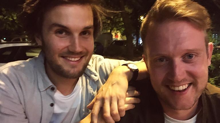 Yannic und sein Freund Basti