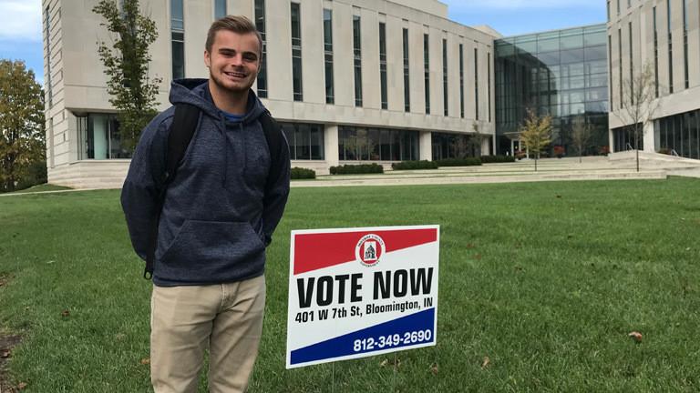 Harrison ist ein US-amerikanischer Wähler, der die Republikaner unterstützt.