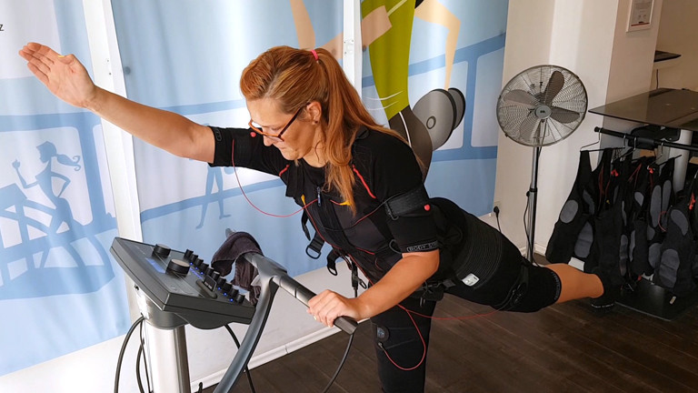 EMS-Training: Caro hatte keinen Spaß, dafür aber üblen Muskelkater