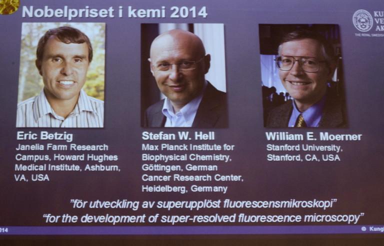 Stefan Hell, Eric Betzig und William Moerner bekommen den Chemie-Nobelpreis 2014