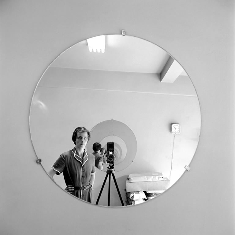 Selbstporträt der Fotografin Vivian Maier