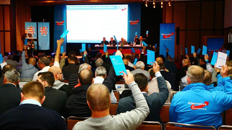 Landesparteitag der AfD Thüringen am 03.11.2018