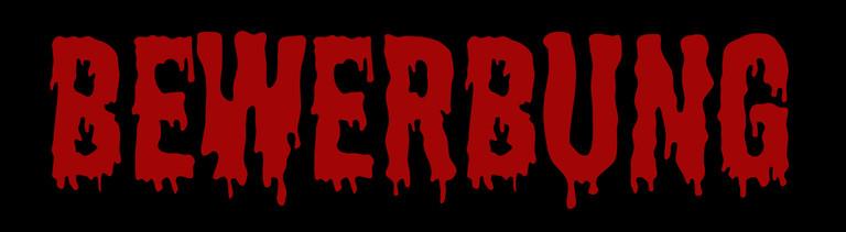 Bewerbung in Horrorschrift