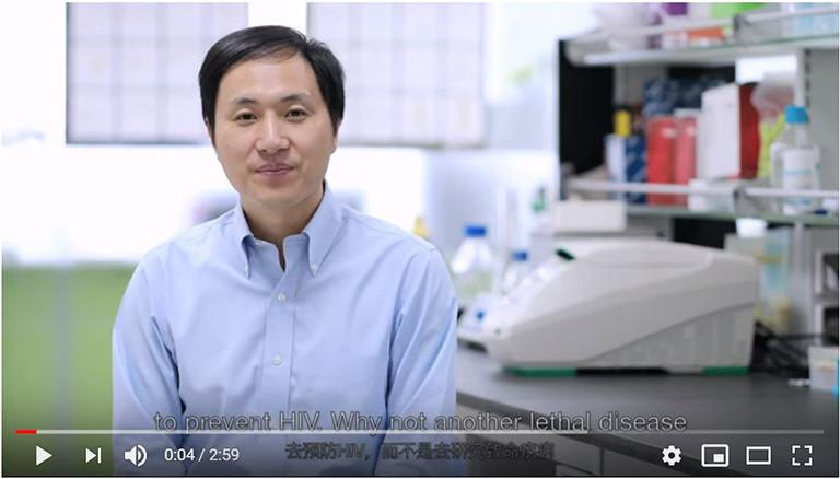 Chinesischer Forscher Jiankui He