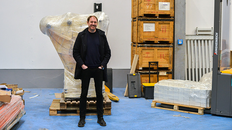 Mirko Boddecker, der Geschäftsführer von Foto Impex