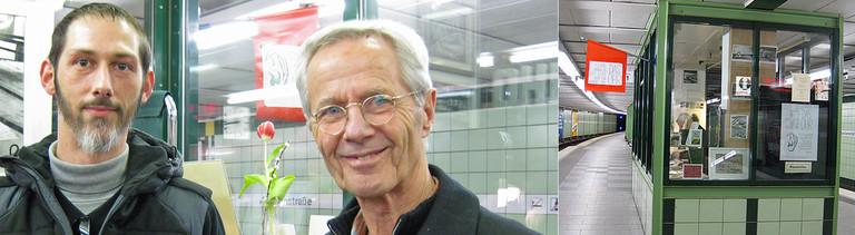 Gast Marc kommt extra nach Hamburg, um seine Geschichte zu erzählen