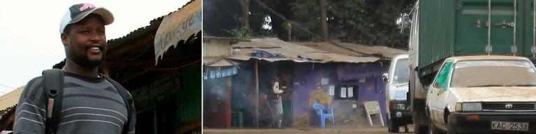 Freddy Otieno von Kibera-Tours