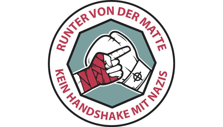 """Logo """"Runter von der Matte"""""""