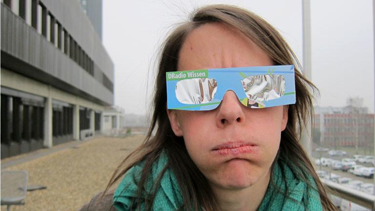 enttäuschtes Gesicht mit Sofi-Brille