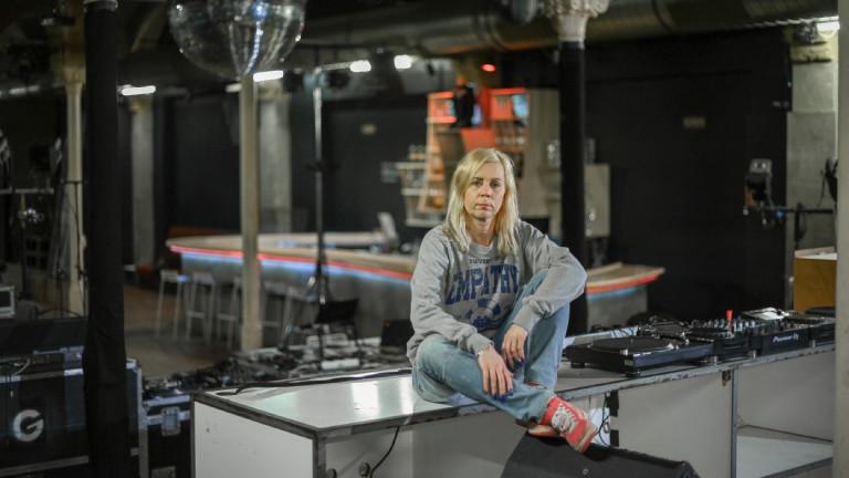Pamela Schobeß, Betreiberin des Clubs Gretchen