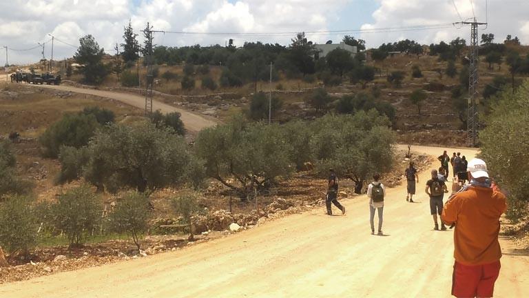 Konflikttourismus im Westjordanland