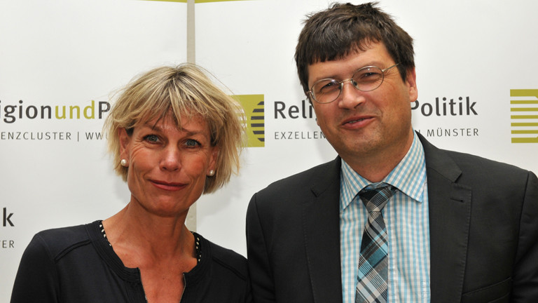 Bettina Schöne-Seifert, Medizinethikerin und Reiner Anselm, evangelischer Theologe