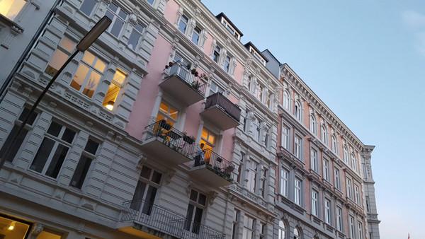 Haus in Hamburg.