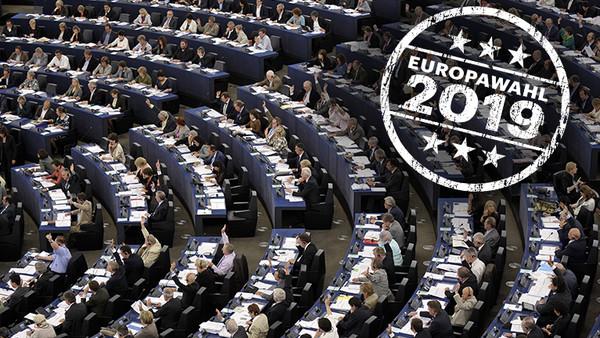 Das Europäische Parlament in Straßburg.