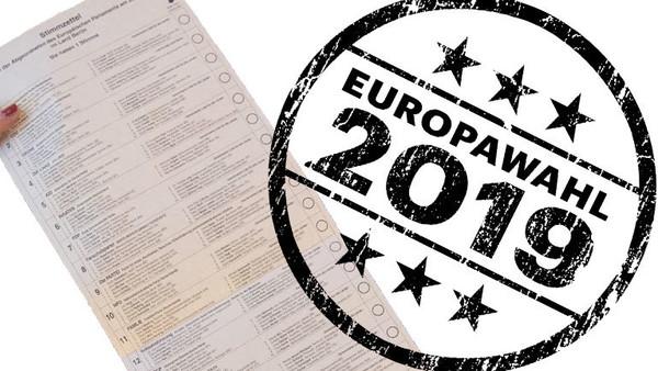 Europawahl 2019 Stimmzettel