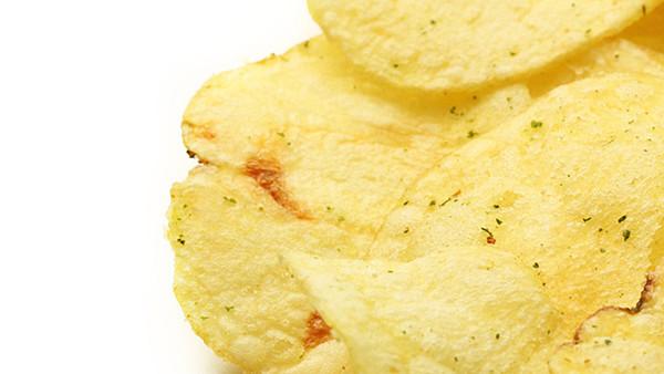 Chip auf hellem Hintergrund
