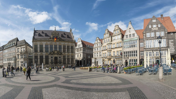 Bremer Innenstadt, Panorama
