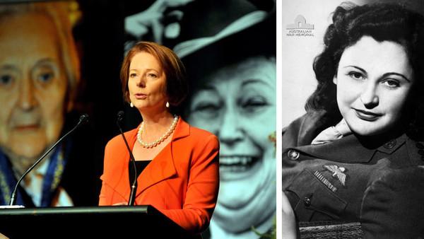 Die politische Aktivistin und Antifaschistin Nancy Wake