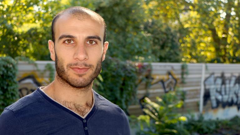 Omar ist Flüchtling aus Syrien.