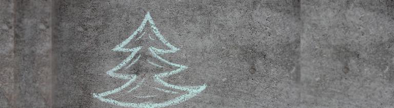 Ein nachhaltiger Weihnachtsbaum