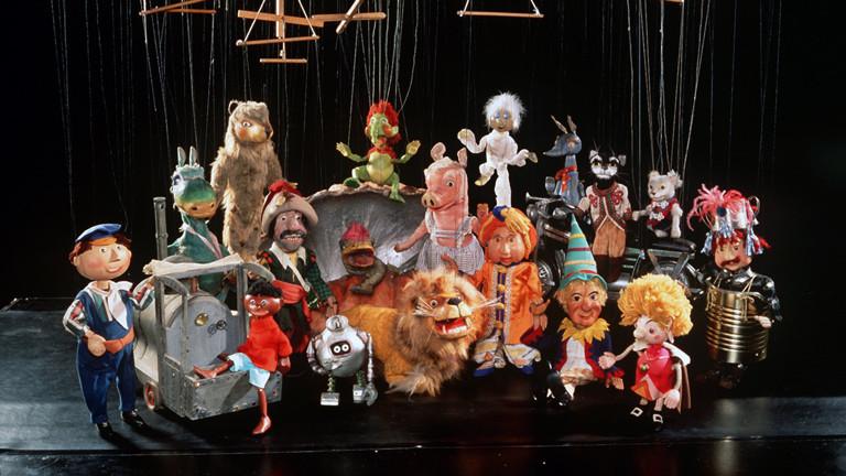 Die Stars der Augsburger Puppenkiste