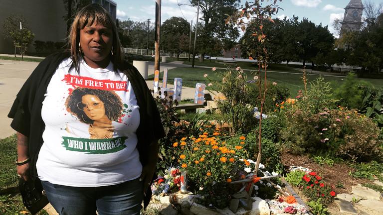 Hanna Enders Vote Trip 3 - Cleveland. Hier trifft sie die Mutter von Tamir Rice. Er wurde mit 12 Jahren von Polizisten erschossen