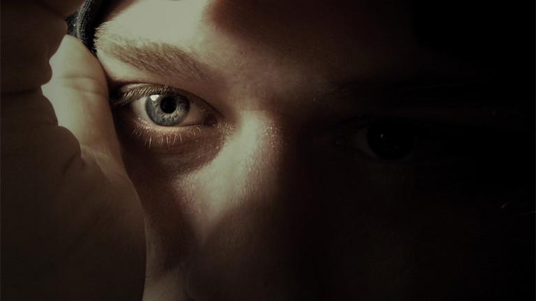 Böser Blick. Stalking.