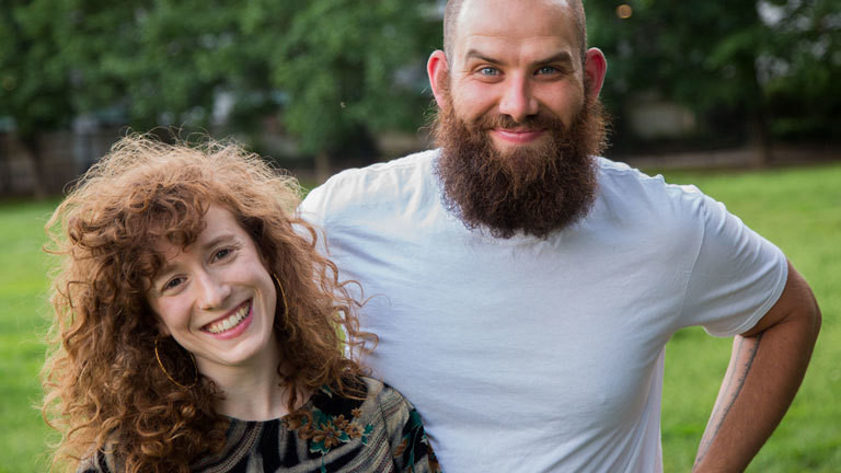 Doria und Andres sind von den USA nach Kanada ausgewandert.