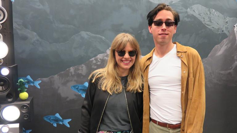 Maurice Ernst mit Jenni Gärtner