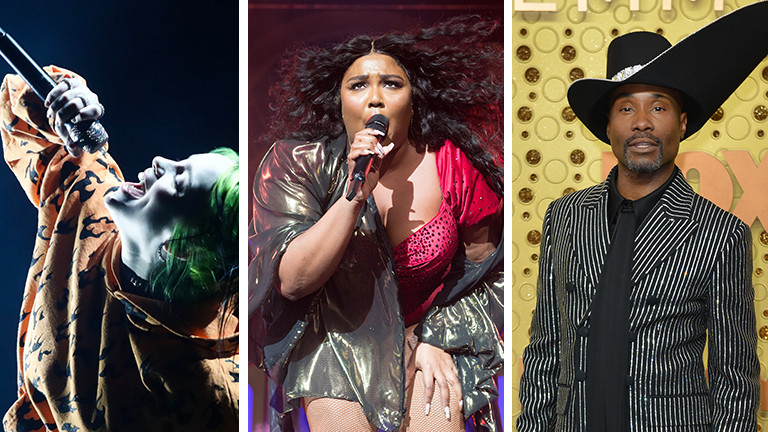 Billie Eilish, Lizzo und Billy Porter sind beim International Music Award dabei.